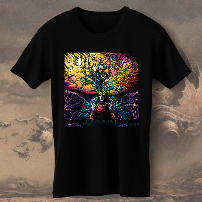 Tee Shirt Tops Design Men Crew Neck Disforia Our Time Defined The Age Of Ether Short-Sleeve T Shirts