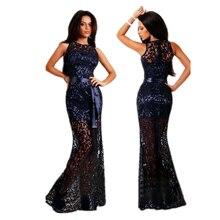 2016 New Arrival Beautiful Lace Patchwork Dresses Party Bodycon Maxi Mermaid Dress Elegant Sleeveless Floor Length Long Dresses