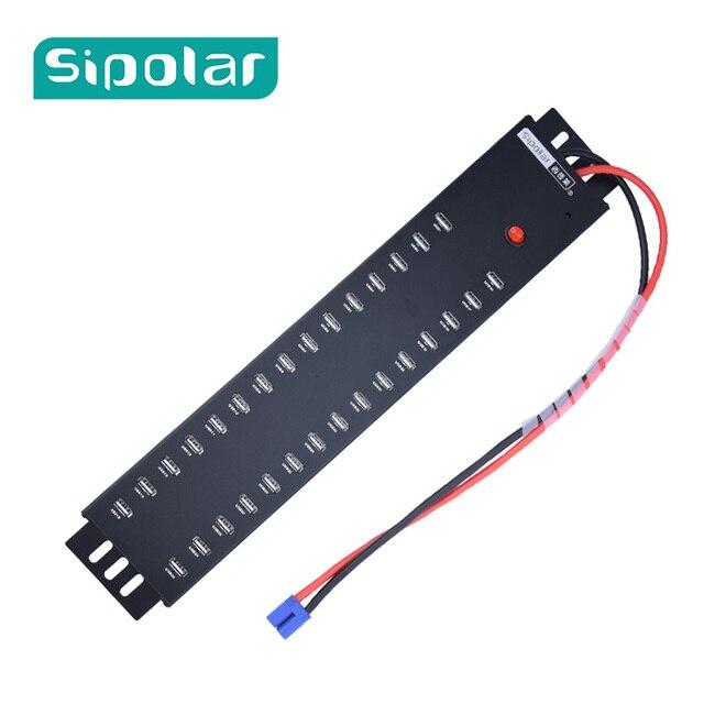 Sipolar 5V 2.1A 30 Port USB 2.0 HUB 30 Port Charging Station For Charger  Cart