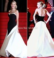 New Arrival Stylish 2016 Sweetheart Black and White Special Occasion Cannes Blake Lively Red Carpet Celebrity Dresses