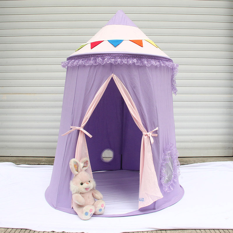 Hot Selling Portable Play Tent for Kids Prince Tents Tipi Indoor Children Castle Play House Gifts Outdoor Toy Tents  best selling child toy tents tipi kids game house girl princess play tent teepee children house indoor outdoor toy tents