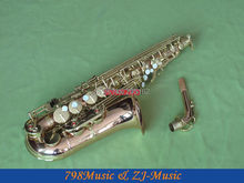 NEW Professional Phosphor Bronze Copper Eb Alto Saxophone High F# With Case