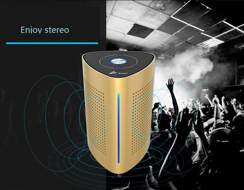 New ADIN V8 Vibration Speaker 36W Bluetooth Speakers Wireless Subwoofer NFC Stereo 3D Surround Touch Computer Phone Speaker (9)