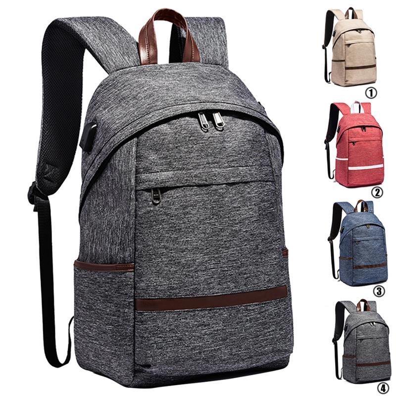 Casual Anti-theft Backpack For Teenagers Boys Men Multifunction Laptop Backpack With USB Charging Port Fashion Unsex Women Bags