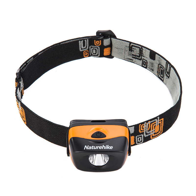 Naturehike 120 Lumen Waterproof LED Headlamp with 3-Modes <font><b>best</b></font> for Camping Hiking Night Running Dog Walking