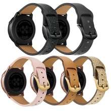 Gear S3 strap For Samsung Galaxy watch 46mm 42mm Frontier band Leather Watchband for Samsung watch 22mm 20mm Replacement straps