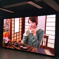 Indoor display screen led p3.91 500x500mm rgb led matrix video panel for advertising