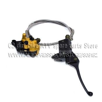 Dirt bike front brake Assembly pit bike  CRF50  70 KLX 110   brake lever  capiler spare parts