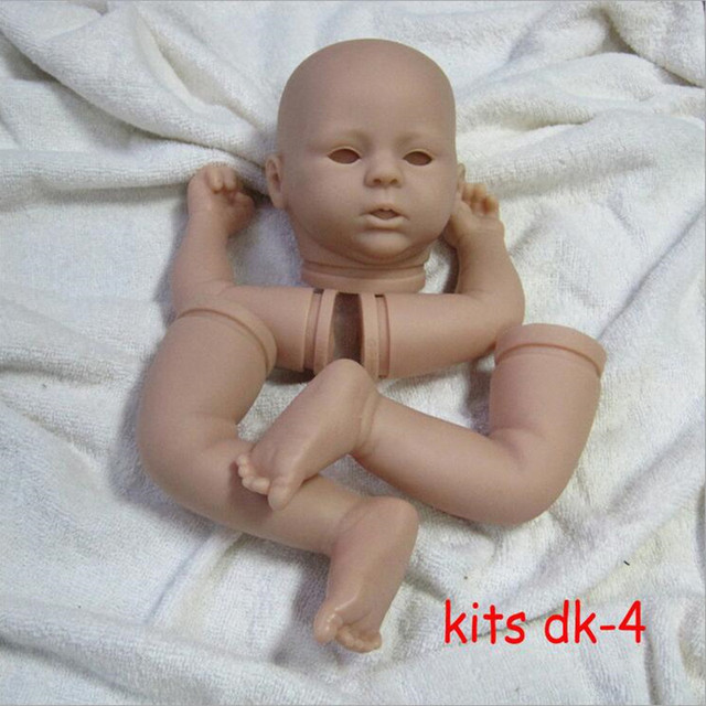Reborn Doll Kits for 21inches Soft Vinyl Reborn Baby Dolls Accessories for DIY Realistic Toys for DIY Reborn Dolls Kits#dk-4