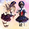 Japanese Anime Love Live Black Dress Gift Accessories Suit Lolita Dresses Cosplay Halloween Party Clothes Free