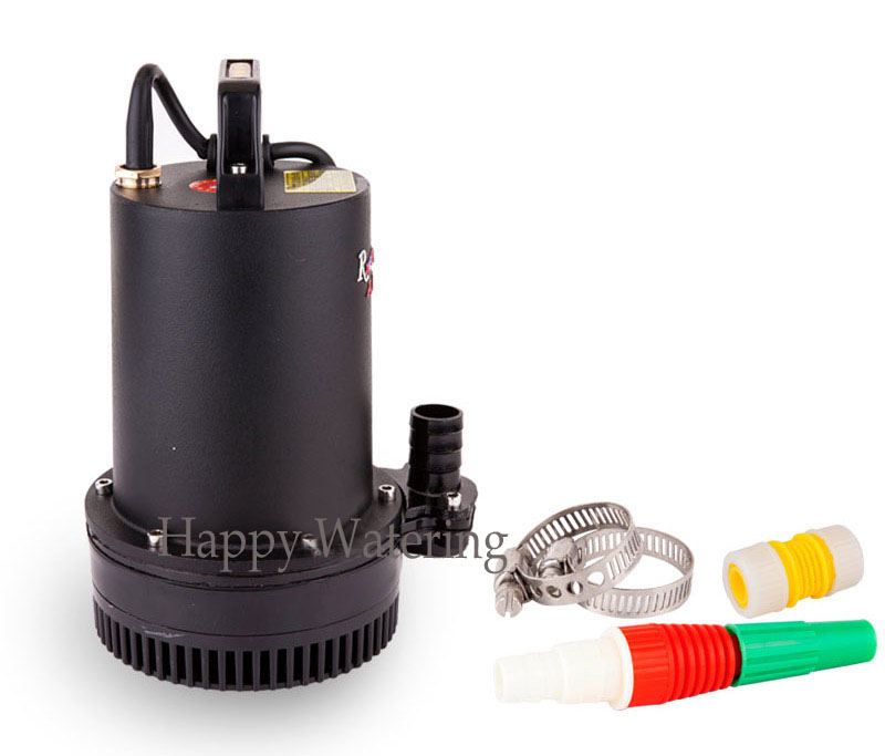 240W Water Well Pump 6000LPH39.5FT Lift 48V DC Submersible Water Pump