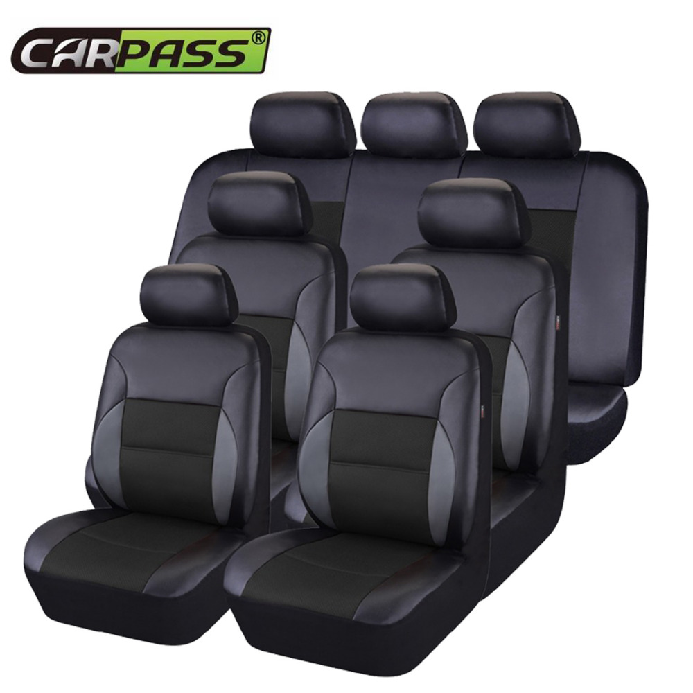 Miraculous Us 95 99 40 Off Car Pass Universal 7 Seat Car Seat Covers Pvc Leather With Airbag Fit 60 40 50 50 40 60 Seat Black Brown Covers For Car In Uwap Interior Chair Design Uwaporg