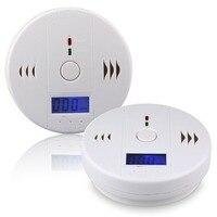 2015 NEW LCD CO Carbon Monoxide Detector Alarm Sensor White