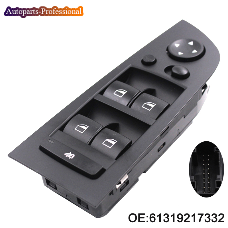 61319217332 Left Driver Side Window Control Switch Fits For BMW E90 E91 325i 328i 330i Car Accessories
