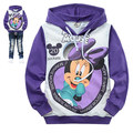 2-10Y Girls Boys Clothes Mickey Minnie Mouse Clothing Cartoon Spring Autumn Children Sports Hoodies Kids Clothes Vetement Garco