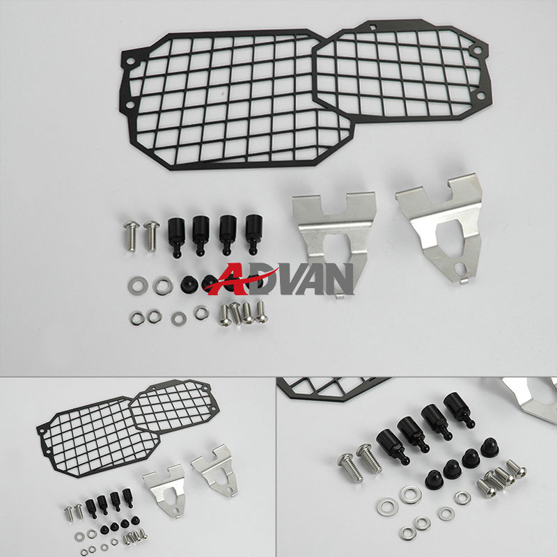Quick Release Stainless Steel Headlight Guard Fit for BMW F800GS ADV F700GS F650GS areyourshop sale rear abs sensor protective guard cover fit for bmw f800gs adv f700gs f650gs twin