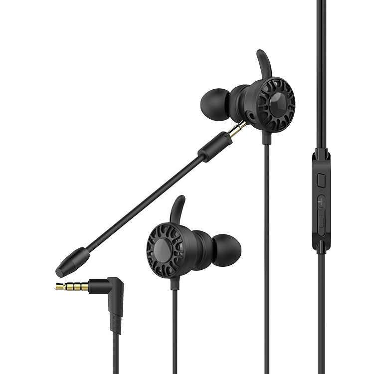 Besiuni משחקי אוזניות עם מיקרופון באוזן בס רעש ביטול אוזניות עם מיקרופון עבור טלפון מחשב גיימר PS4