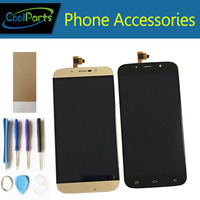 High Quality LCD Screen Display Replacement For Umi Rome X Black Gold Colour 1PCS Lot Free
