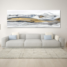 Modern Abstract Art Oil Painting Posters and Prints Wall Canvas Chinese Mountains Pictures for Living Room