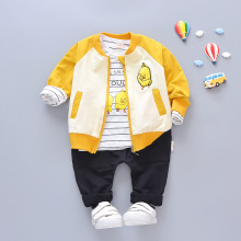 2019 New Children's clothing suit Cotton products for Boys and girls Three-piece set Spring and autumn Kids sets baby clothes