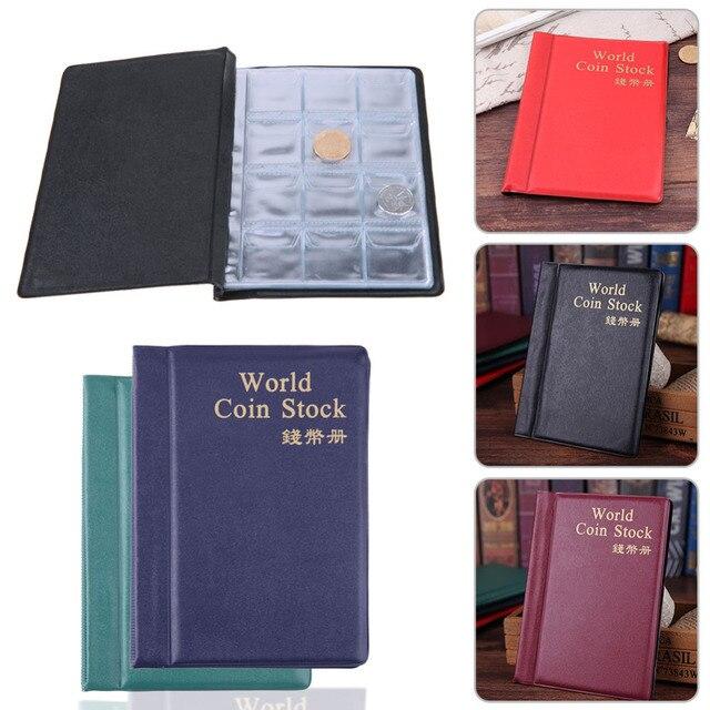 120 กระเป๋าเหรียญภาพอัลบั้ม 10 หน้ารัสเซีย DIY อัลบั้มผู้ถือหนังสือกระเป๋าเก็บหนังสือเหรียญ