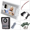 7 Inch TFT Colour LCD Display 4-line Video Door Phone with High Definition Image