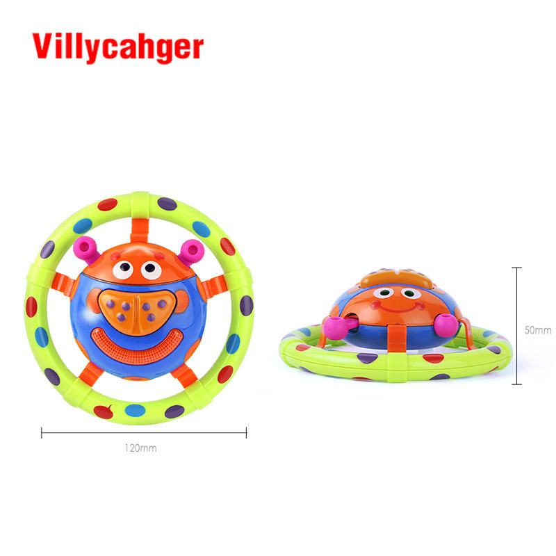 Cute Baby Toys With Sound And Light Ladybug Children Musical Grasping Gift Kids