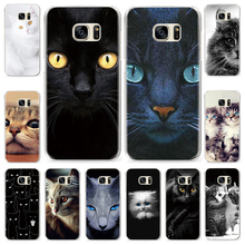 For Samsung Galaxy A3 A5 J3 J5 J7 2015 2016 2017 Cats Printing Note 3 4 5 Cases Pattern Phone Case
