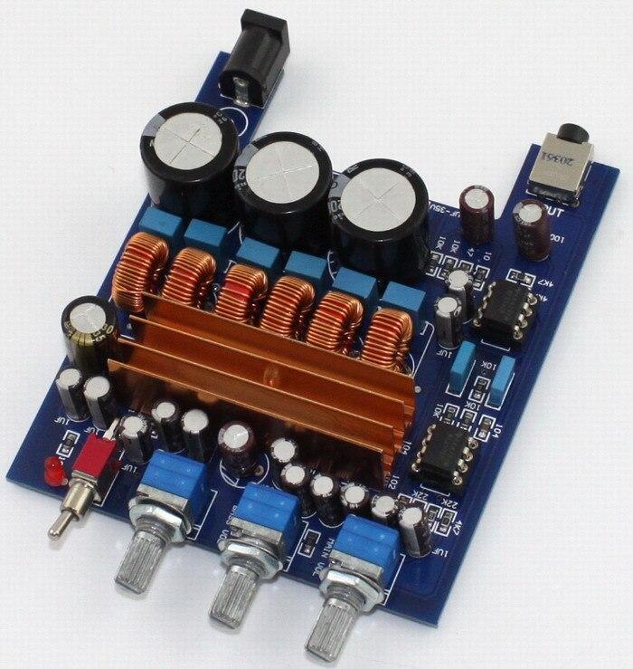 Frss Shipping TPA3116 2 1 2 X 50W+100W Class D Amplifier