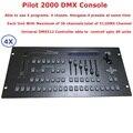 4 шт. картонная упаковка Пилот 2000 DMX контроллер DMX512 консольный  DMX контроллер освещения для 40 шт. компьютерная движущаяся головка сценические...