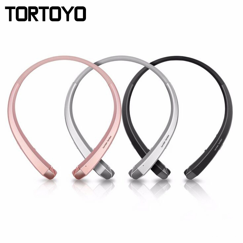 HBS-910 Stereo Wireless Bluetooth Headphone Portable Neckband Headset Headphones For LG HBS910 for iPhone Samsung Xiaomi Earbuds hbs 760 bluetooth 4 0 headset headphone wireless stereo hifi handsfree neckband sweatproof sport earphone earbuds for call music