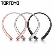 Cheap price HBS-910 Stereo Wireless Bluetooth Headphone Portable Neckband Headset Headphones For LG HBS910 for iPhone Samsung Xiaomi Earbuds