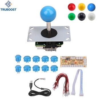Arcade Joystick DIY Kits 8 Way 5Pin Cabl...