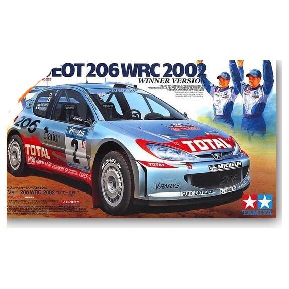 1/24 Peugeot 206 WRC 2002 Rally Champion 24262