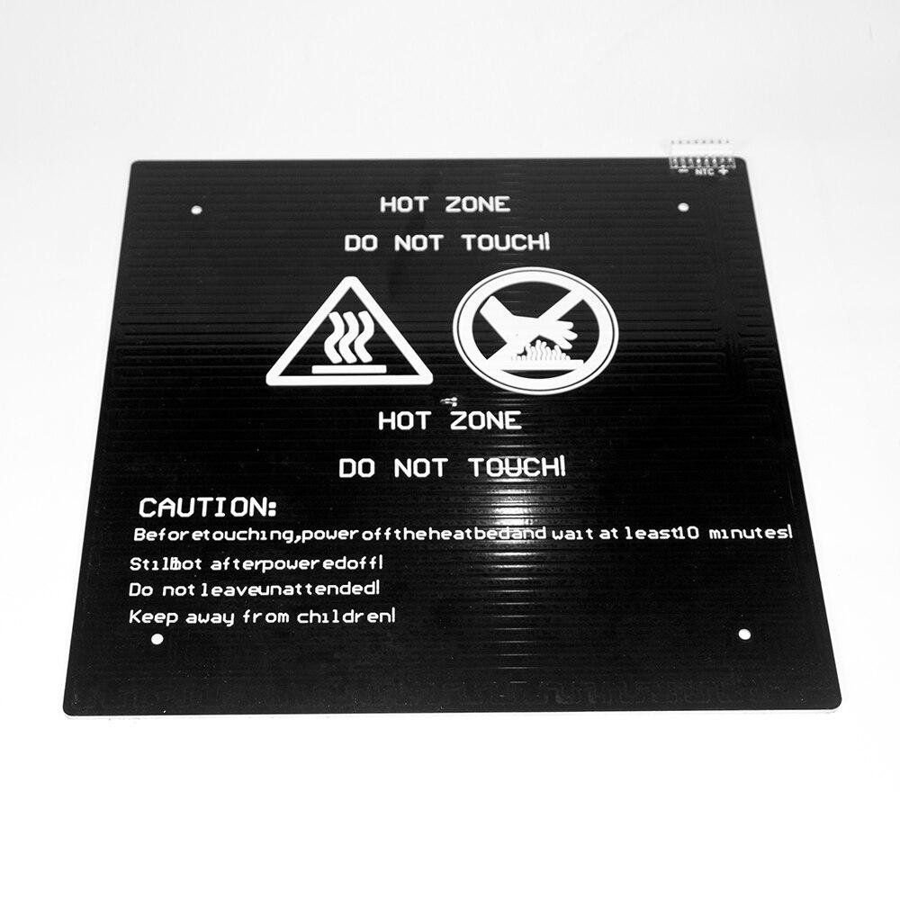 Lit chauffant LK1 imprimante 3D plus longue Compatible avec les Accessoires d'imprimante 3D Alfawise U20 HeatBed