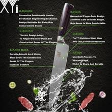Stainless Steel Knife Wood Handle