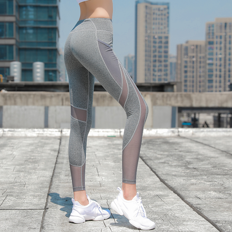 Women Sexy Peach Buttock Yoga Pants Summer High-waisted Slim Pantalon Yoga Girls Compression Running & Jogging Fitness Leggins