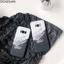 DCHZIUAN Luxury Marble Phone Case For Samsung Galaxy S8 S8plus S9 Plus Note 8 9 Cover S10 Black Coque