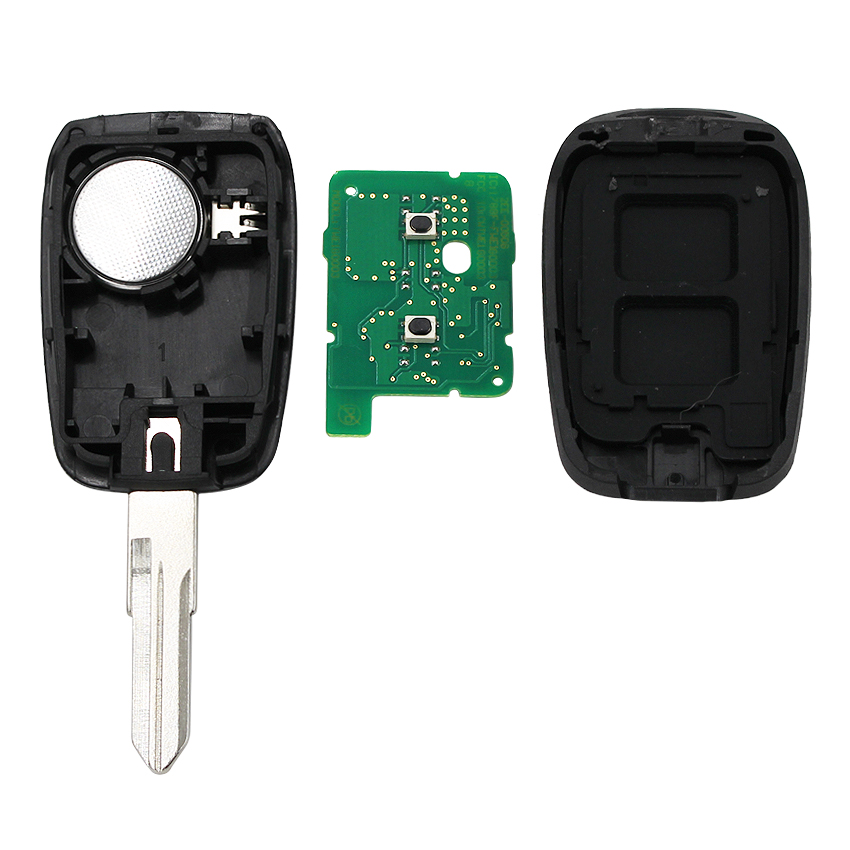 Image 3 - New Remote key 2 button 434MHZ with 4A PCF7961M chip for Renault Sandero Dacia Logan-in Car Key from Automobiles & Motorcycles