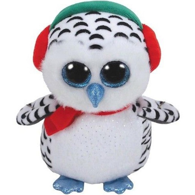 a5c322aed66 Ty Beanie Boos Plush Animal Doll Nester the White Owl Soft Stuffed Toys  With Tag 6