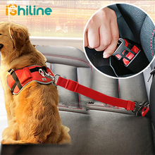 Vehicle Car Pet Dog Seat Belt Puppy Seatbelt Harness Lead Clip Supplies Safety Lever Auto Traction Products