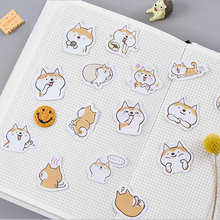 45pcs/lot Cute dog mini paper sticker decoration DIY ablum diary scrapbooking label sticker kawaii stationery Label Stickers 45 pcs lot cute van gogh oil painting mini paper sticker decoration diy ablum diary scrapbooking label sticker kawaii stationery