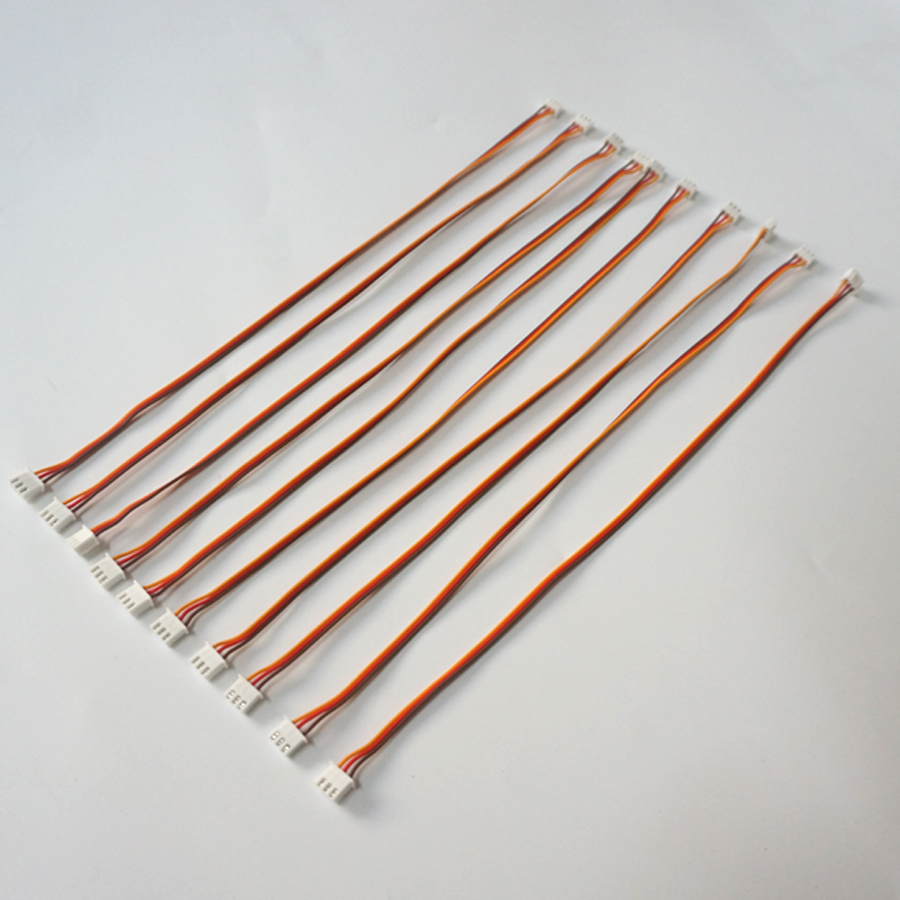 10pcs 300mm 26AWG 3P servo extension cable with XH2 54 Connector 300mm servo extension cable