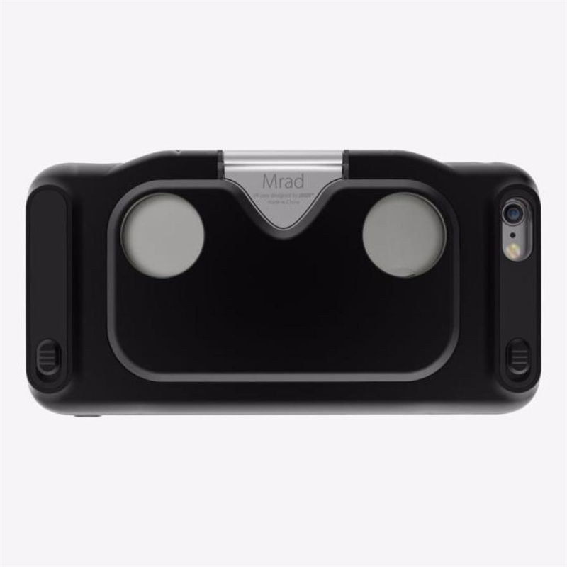 2016 HOT SALE Virtual Reality 3D VR Glass Folding Glasses Case Cover for iphone 6/6S 4.7inch  Virtual glasses COOL