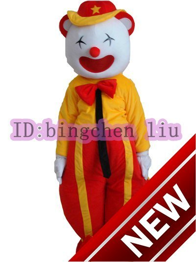 2017 New The Clown Cartoon Character Costume Cosplay Mascot Custom Products Custom-made(s.m.l.xl.xxl) Free Shipping