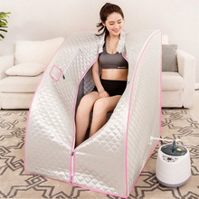 Sauna Steam 4L 2000W Home Spa STEAM BATH Cabin Slimming Household Box Ease Insomnia Weight Loss Steamer Pot