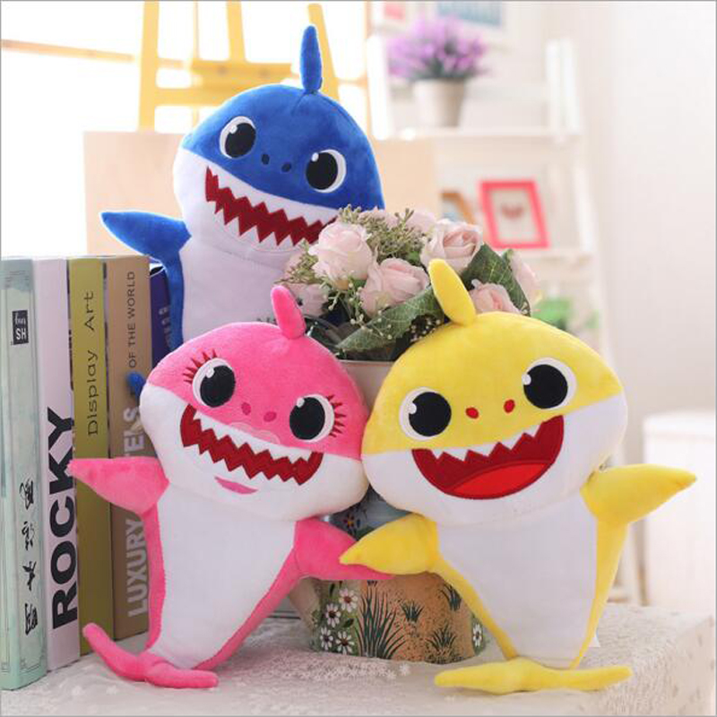 Shark Baby Shark Plush Toys Sing For 60 Seconds