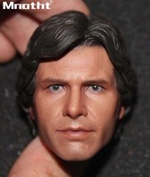 1/6 Scale Young han solo Head Sculpt For 12inch Action Figures Male Soldier Accessories Toys m5