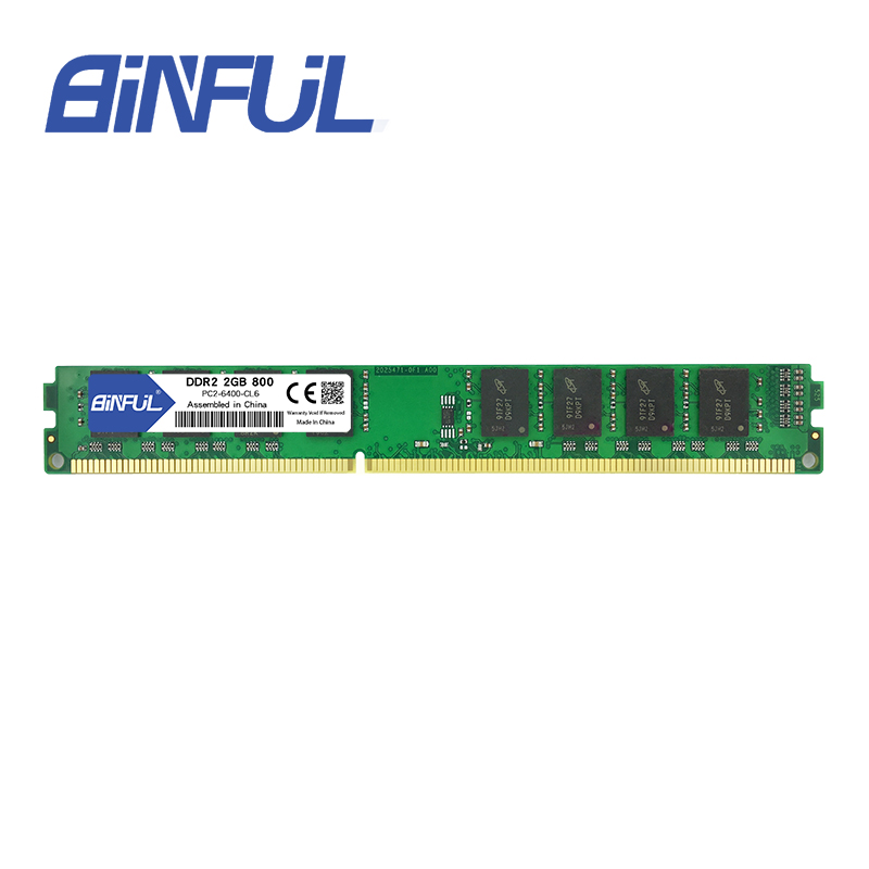 BINFUL DDR2 Ram 2 GB 800 MHz 1.8V 240Pin niet-ECC Desktopgeheugen - Computer componenten - Foto 4