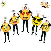 Śmieszne Twarz Emoji Party Kostium Cosplay Ubrania W Boże Narodzenie Fancy Dress Funny Face Emoji Kostiumy Dla Dorosłych